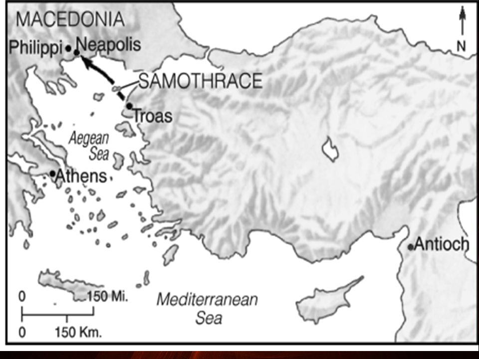 Although Philippi was not the capital city of Macedonia, it was the leading city.