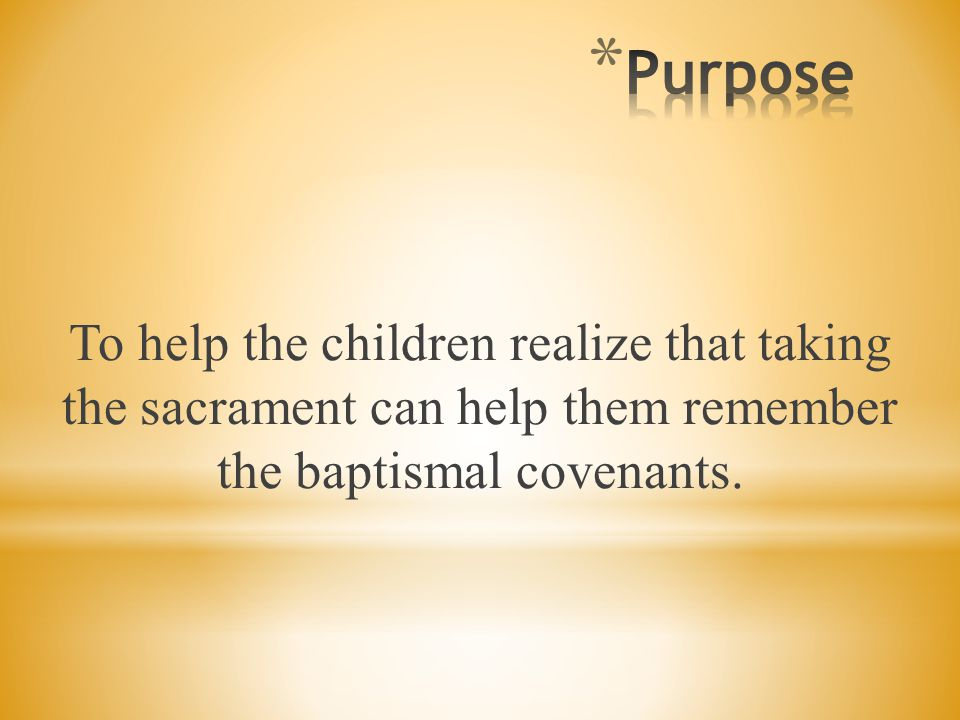 Lesson 33: The Sacrament Reminds Us of Our Covenants Lesson 33: The Sacrament Reminds Us of Our Covenants, Primary 3: Choose the Right B, (1994),161