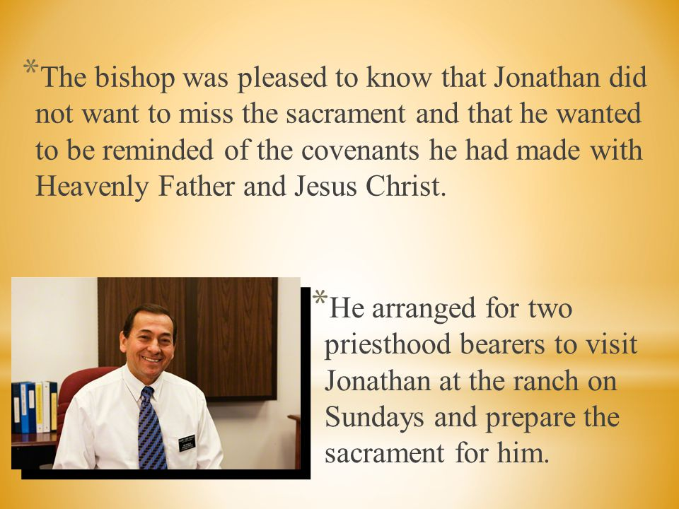 * He wanted to have Heavenly Father's Spirit with him.