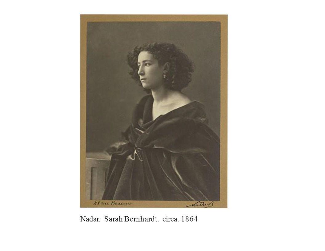 Nadar. Sarah Bernhardt. circa. 1864