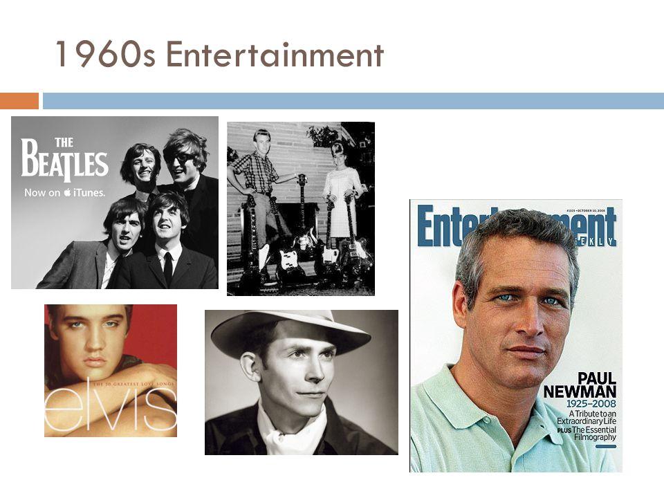 1960s Entertainment