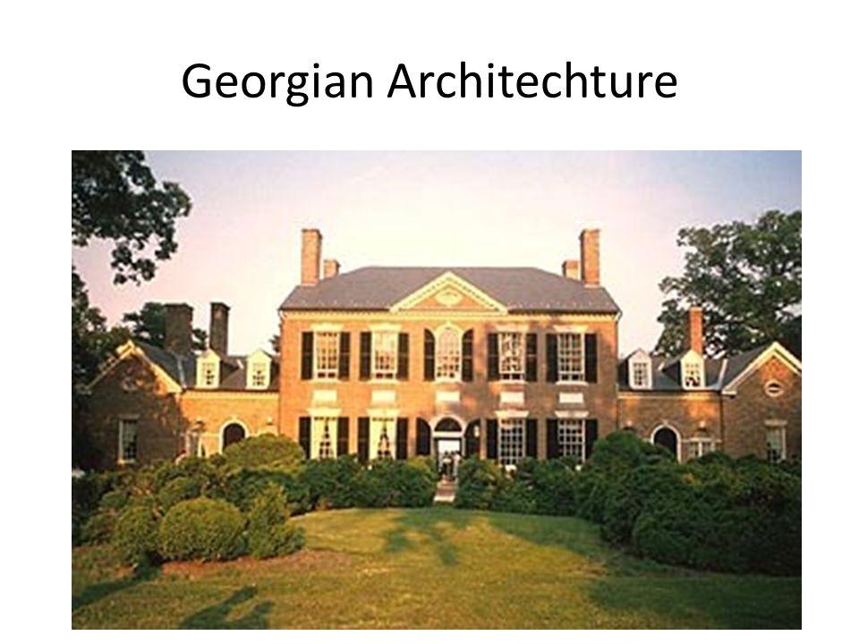 Georgian Architechture
