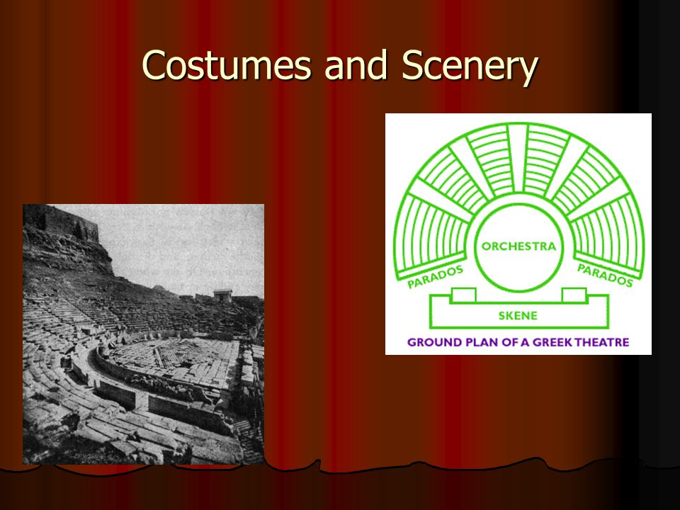 Costumes and Scenery