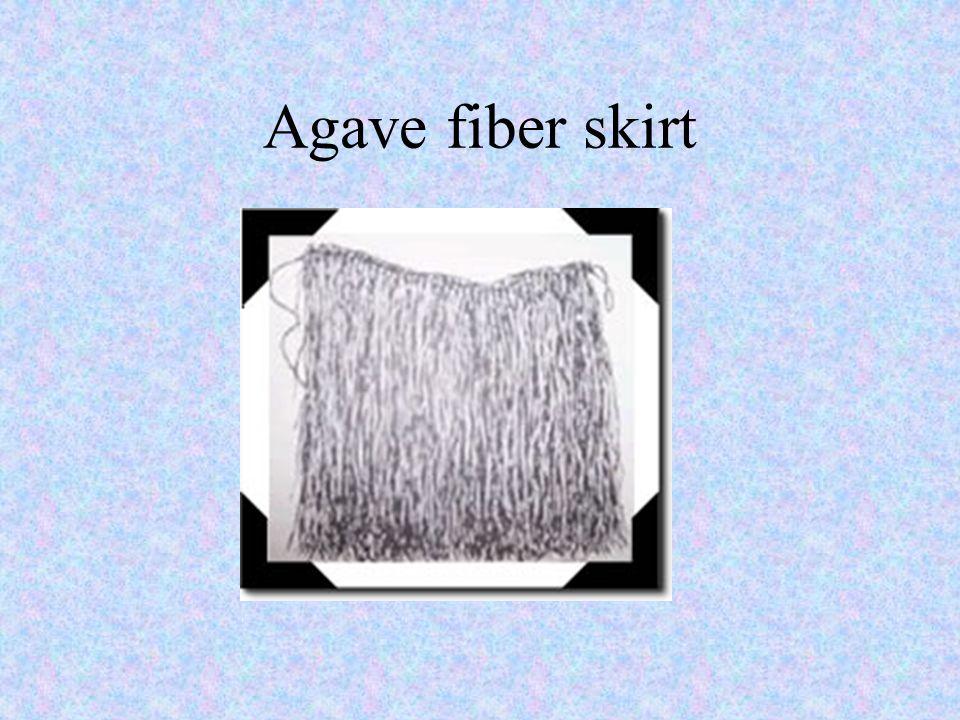 Agave fiber skirt