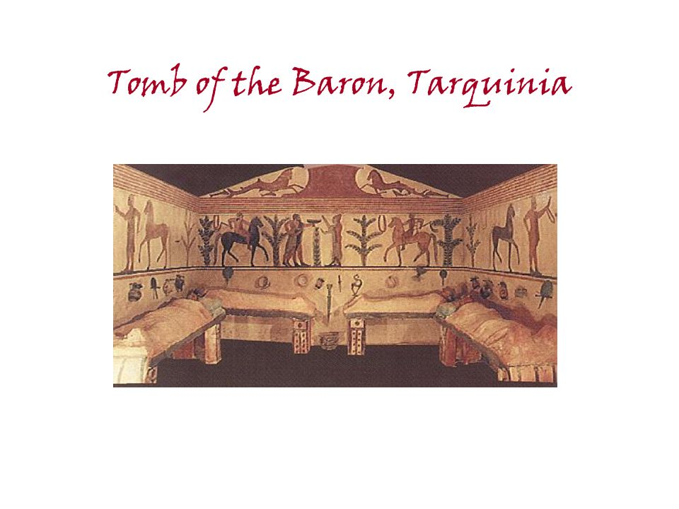 Tomb of the Baron, Tarquinia