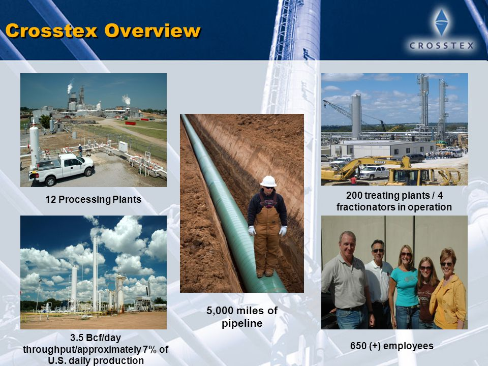 Strategically Located Assets Strategically focused in prolific production areas with access to high-volume markets – South Texas, North Texas, Louisiana, and Mississippi Largest intrastate transmission lines in both Louisiana and Mississippi