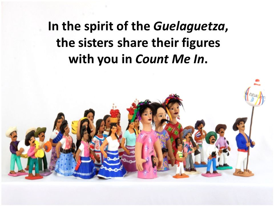 In the spirit of the Guelaguetza, the sisters share their figures with you in Count Me In.