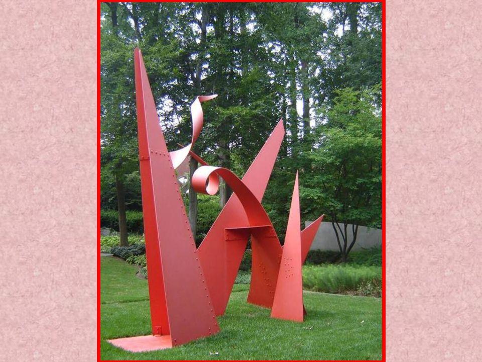 ALEXANDER CALDER AMERICAN 1898-1976 100 YARD DASH STEEL