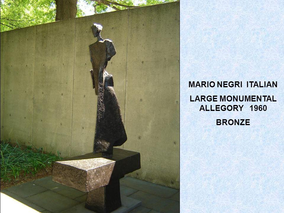 MARINO MARINI ITALIAN 1901-1980 THE MIRACLE 1954 BRONZE