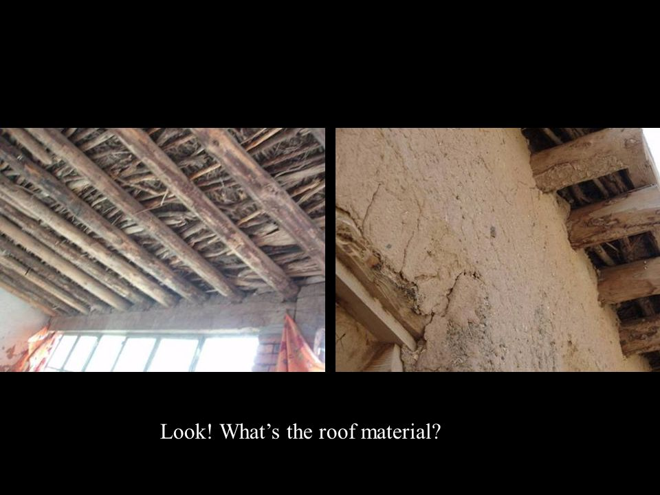 Look! What's the roof material?