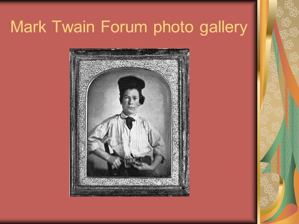 Mark Twain Forum photo gallery