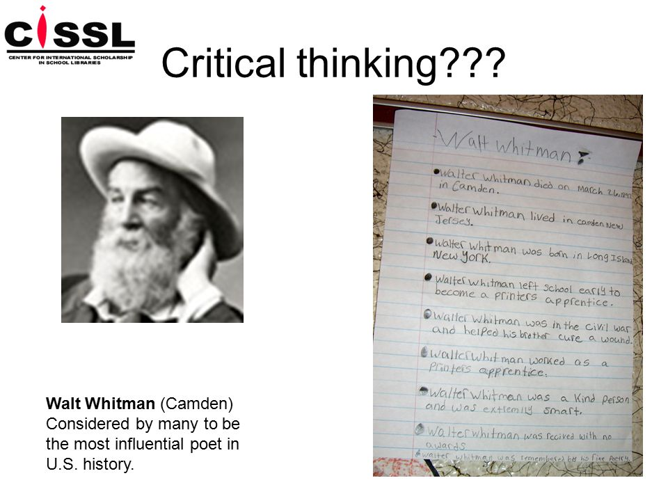Critical thinking .