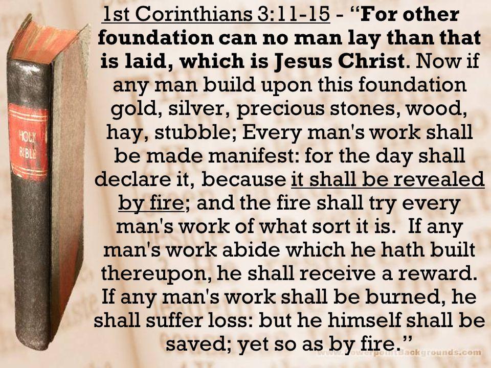The Choices Pride (13: 8,9) Unbelief (vs. 10a) Worldliness (vs. 10b) Selfishness (vs. 11)
