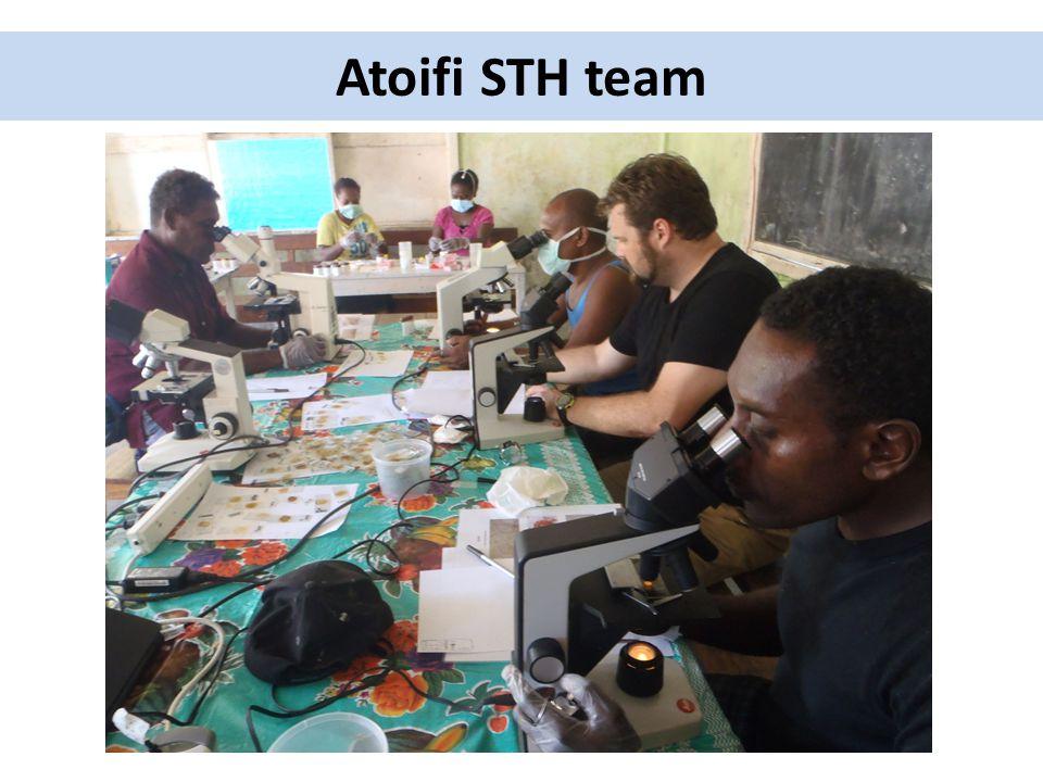 Atoifi STH team
