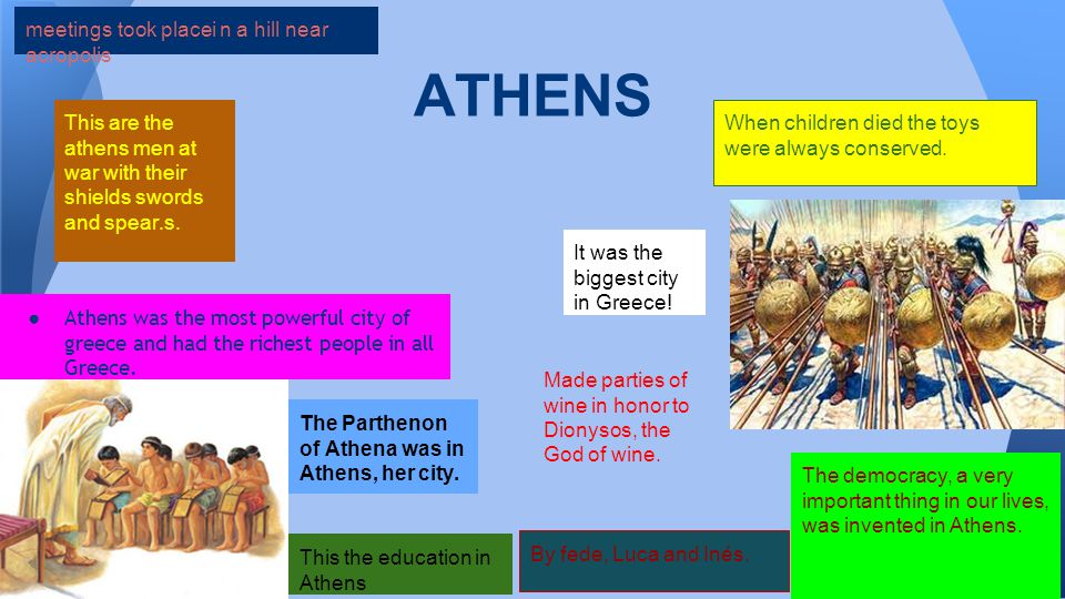 ATHENS When children died the toys were always conserved.