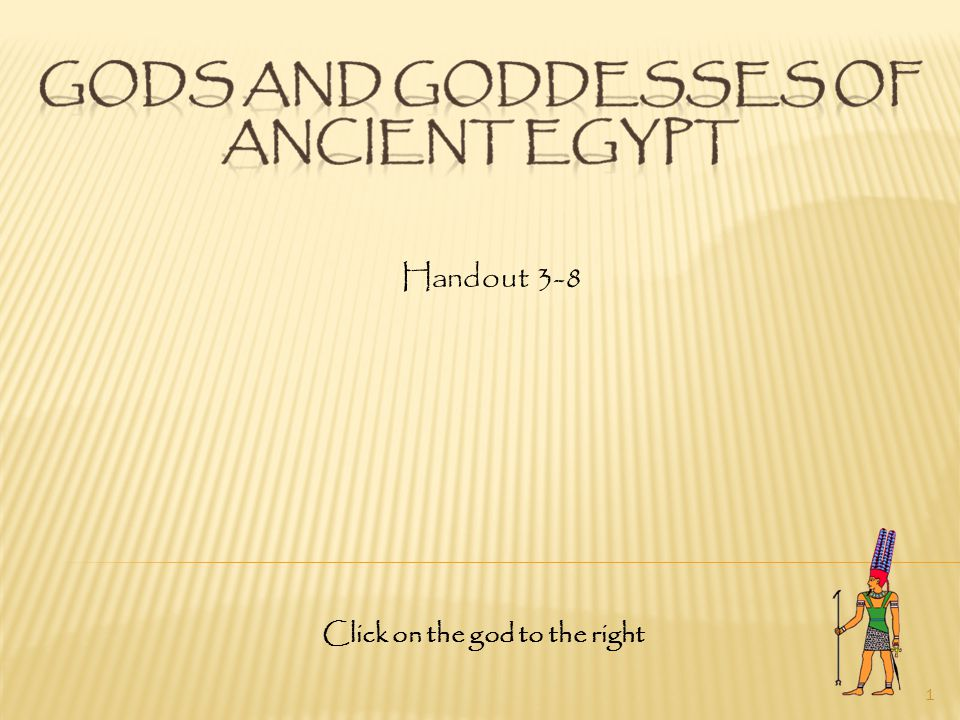 32 The Egyptians believed Isis gave food to the deceased on their journey through the underworld.