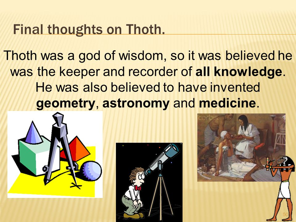 Final thoughts on Thoth.
