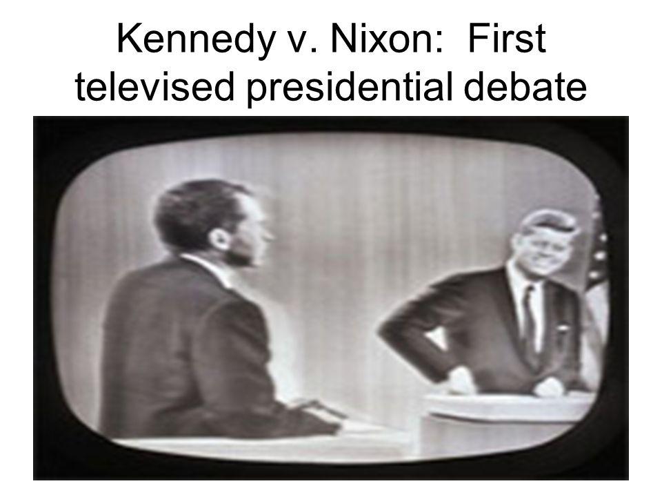 Kennedy v. Nixon: First televised presidential debate
