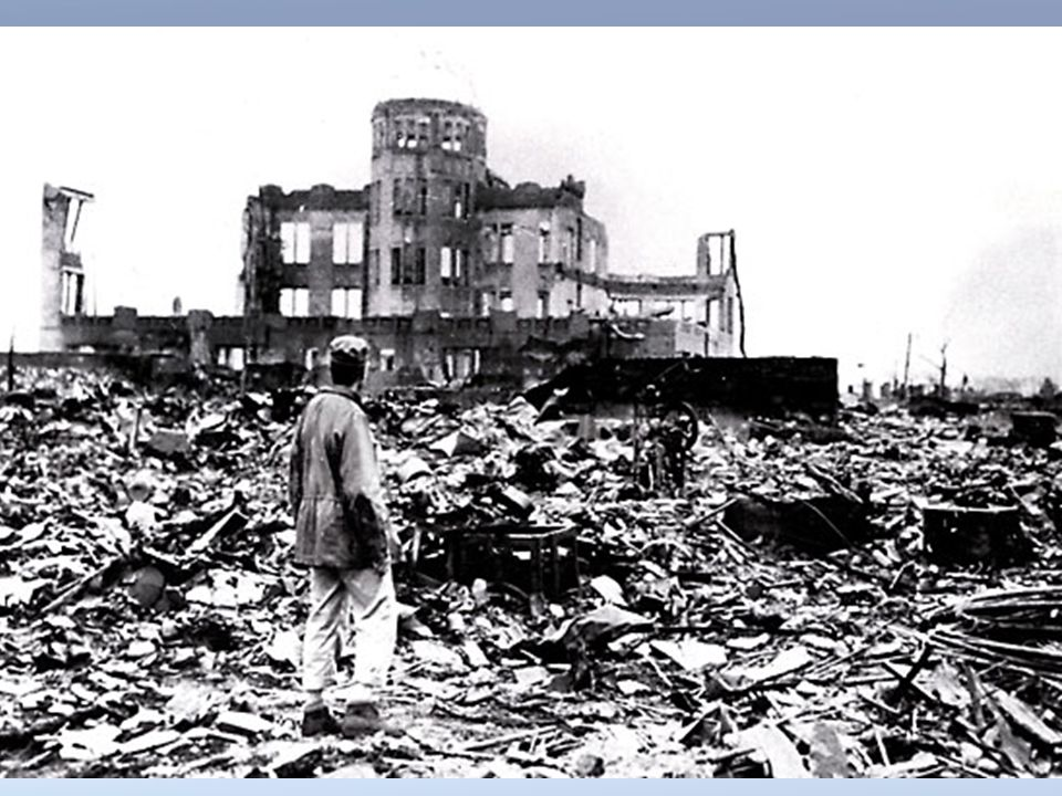 Effects of Bombs Hiroshima 5 square miles of city was destroyed 140,000 inhabitants were killed by the end of 1945 Other Effects Japan agreed to surre