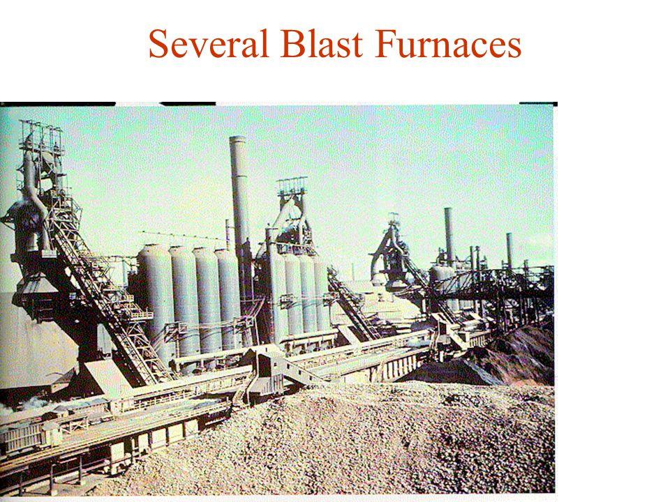 Several Blast Furnaces