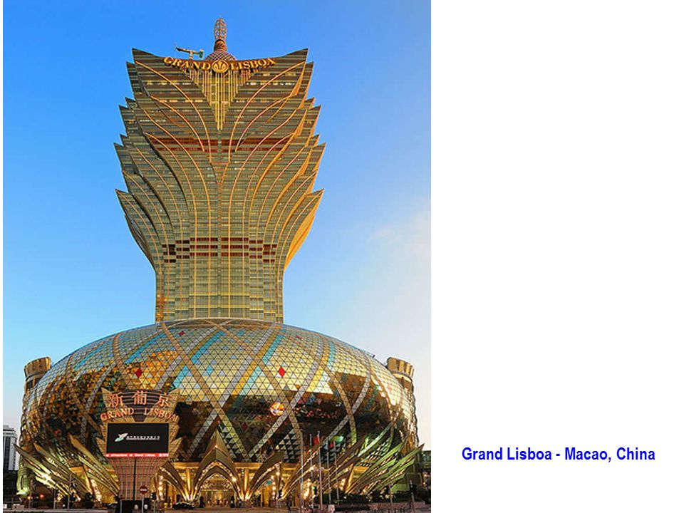 Grand Lisboa - Macao, China