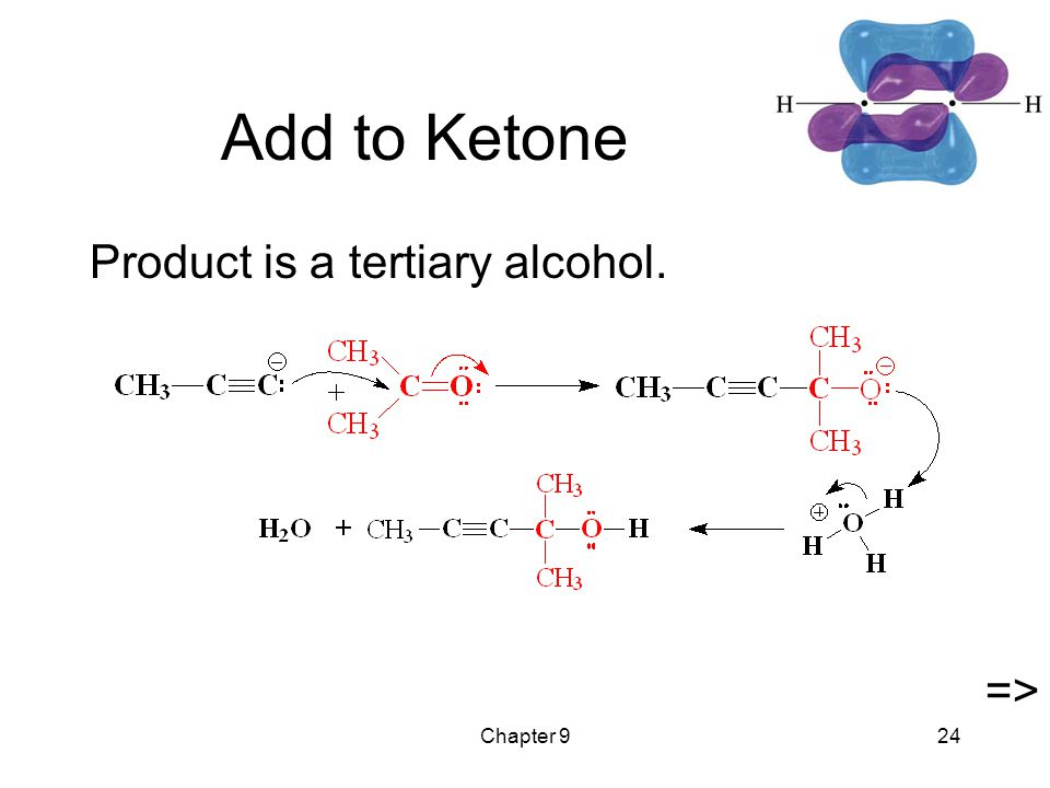 Chapter 924 Add to Ketone Product is a tertiary alcohol. =>
