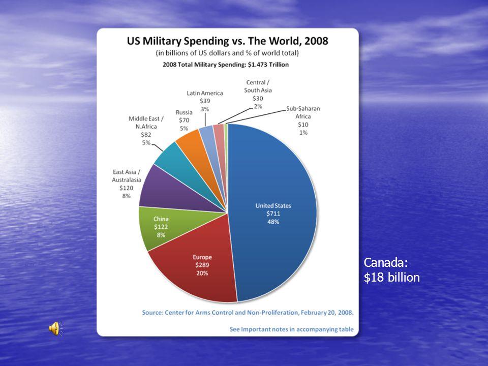 Canada: $18 billion