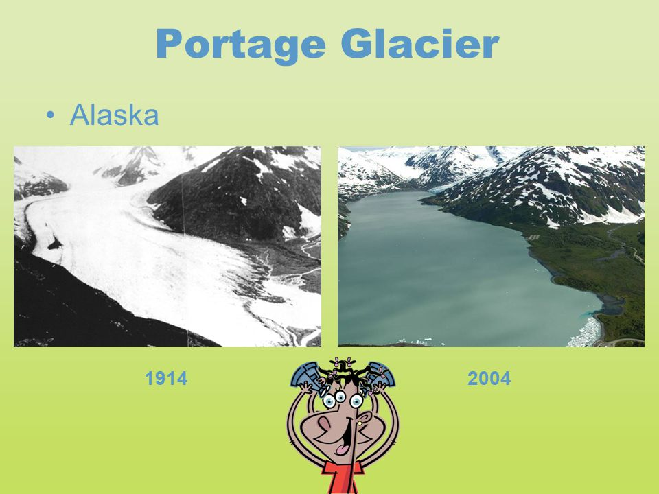 Portage Glacier 19142004 Alaska