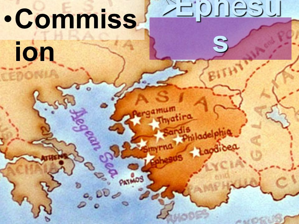 Commiss ion  Ephesu s