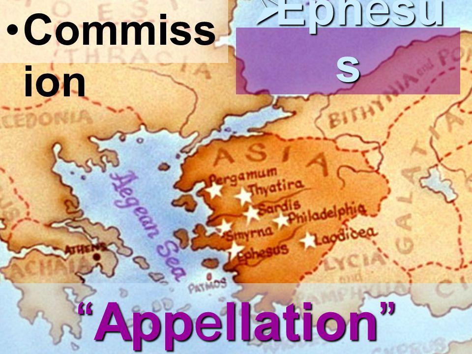 Commiss ion  Ephesu s Appellation