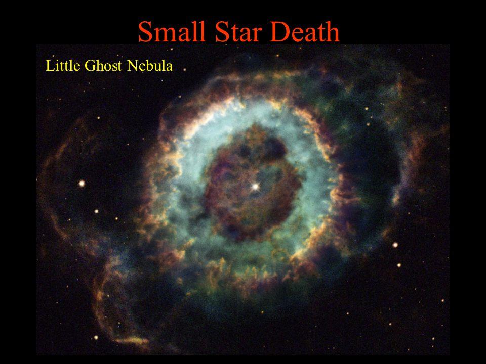 Small Star Death Little Ghost Nebula