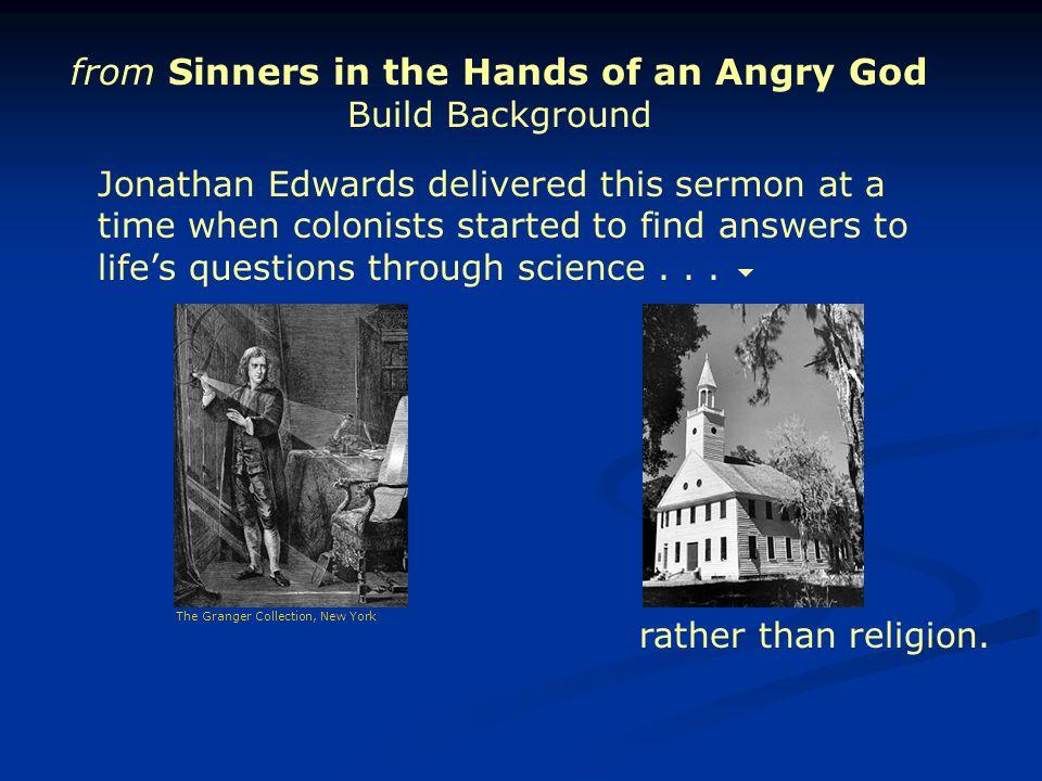 Jonathan Edwards (1703-1758) was not merely a stern zealous preacher.
