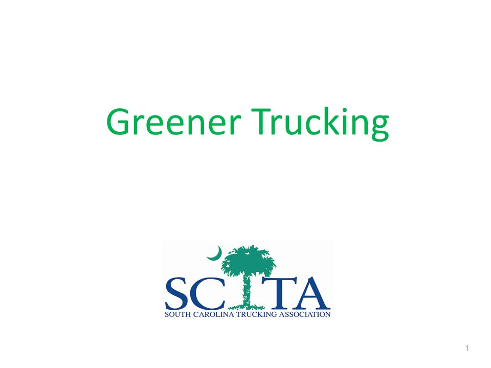 The Trucking Industry Eclectic Mix of Industries 96% Small Businesses, < 20 Trucks 80+% of Communities Depend Exclusively on Trucks Diesel is Lifeblood