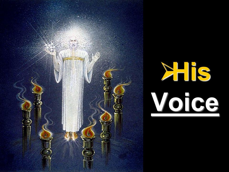  His Voice