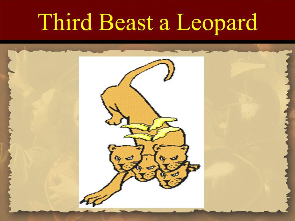 Third Beast a Leopard