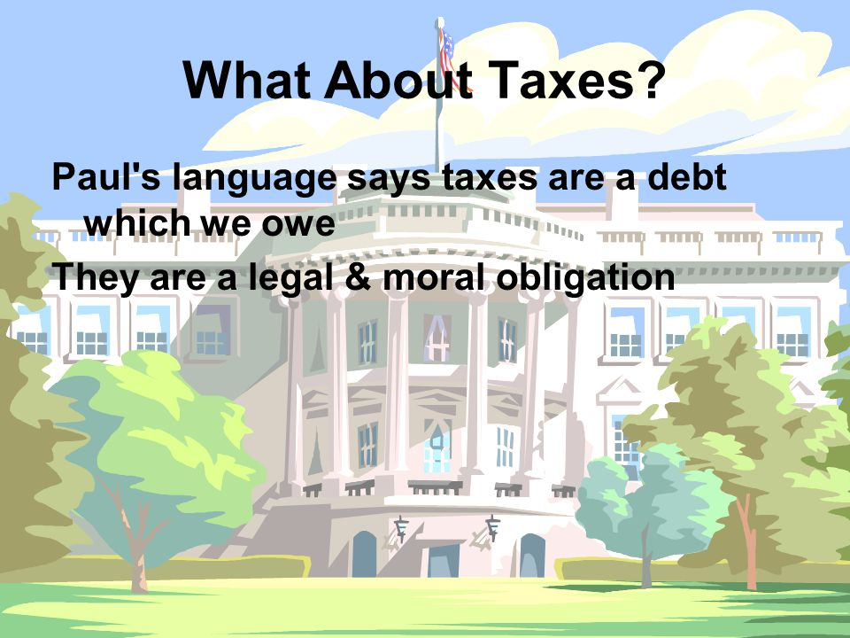 What About Taxes.