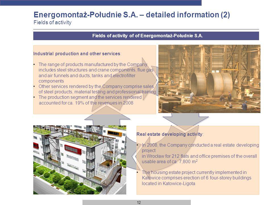 12 Energomontaż-Południe S.A.