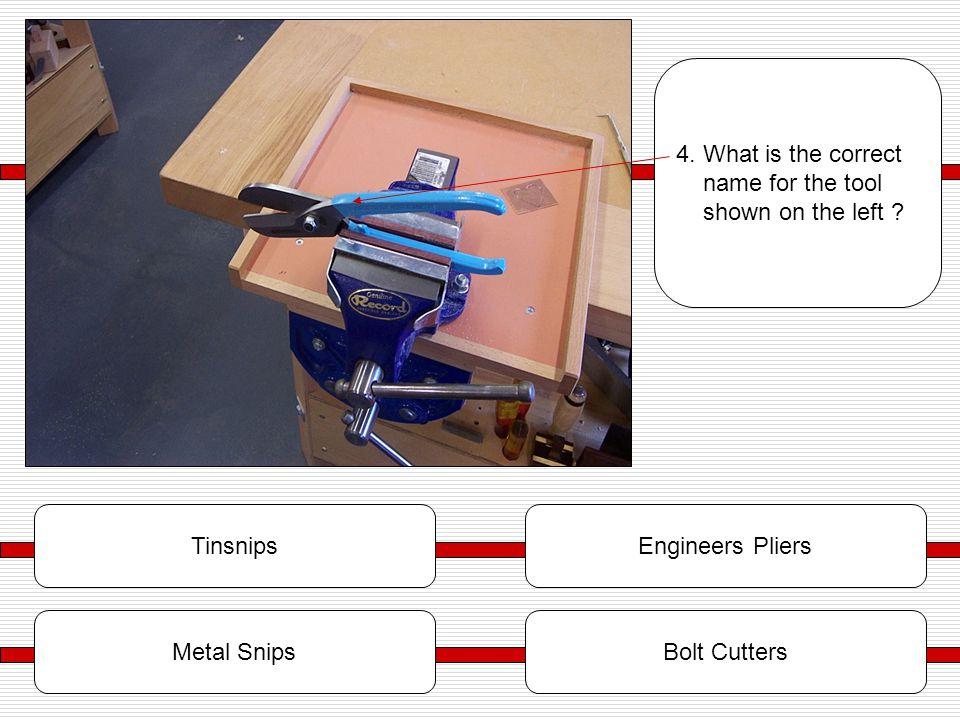 TinsnipsEngineers Pliers Metal SnipsBolt Cutters 4.