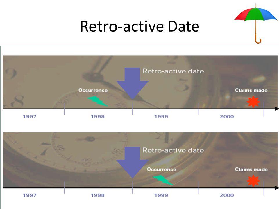Retro-active Date