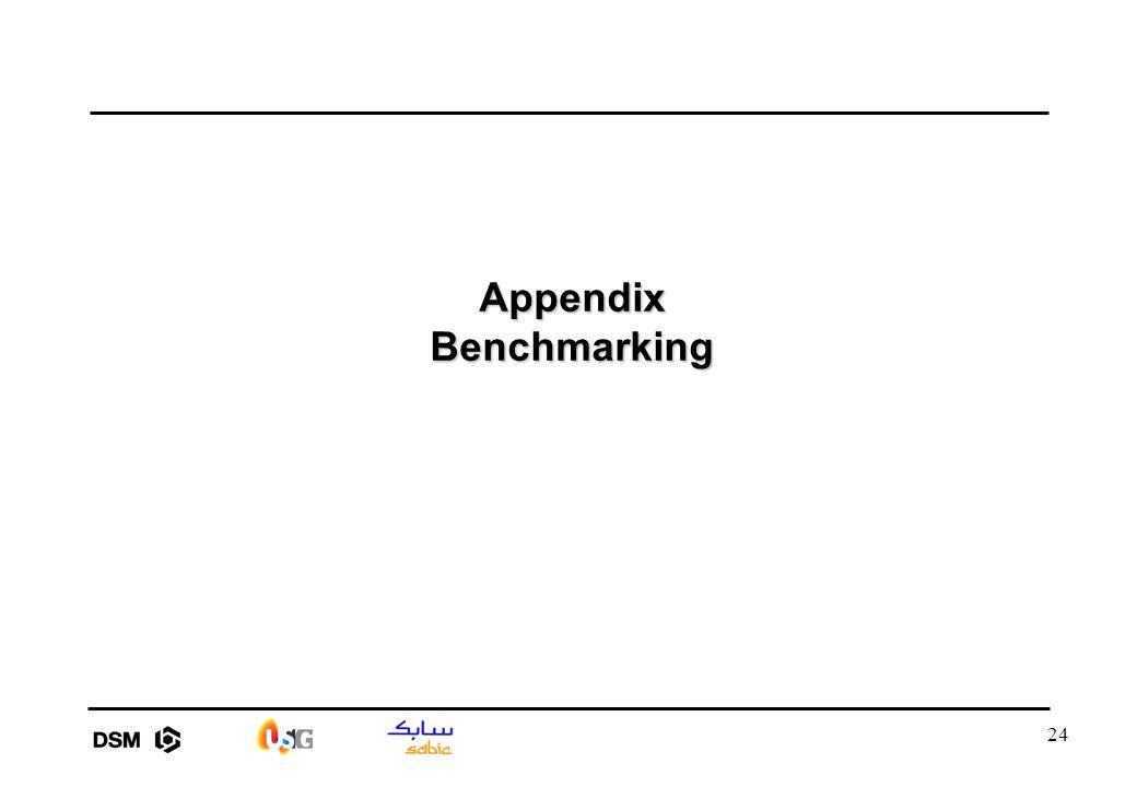 24 Appendix Benchmarking