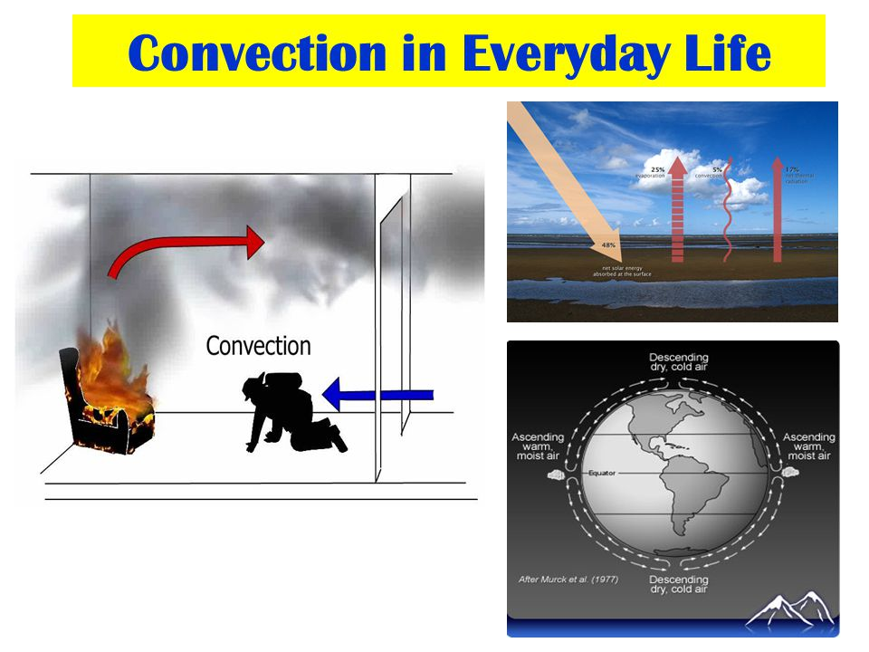 Convection in Everyday Life