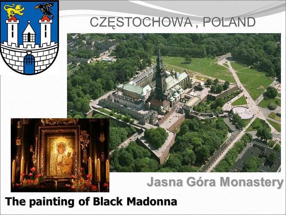 The painting of Black Madonna CZĘSTOCHOWA, POLAND Jasna Góra Monastery