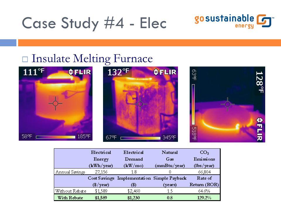 Case Study #4 - Elec  Insulate Melting Furnace
