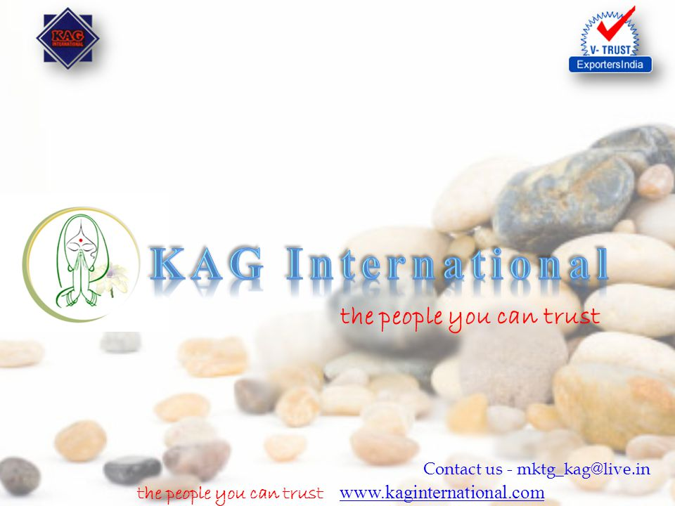the people you can trust www.kaginternational.com www.kaginternational.com Contact us - mktg_kag@live.in Product Picture Product Description Vermiculite is a hydrated magnesium aluminum silicate mineral which resembles mica in appearance Vermiculite is mined using open cast mining techniques where the ore is separated from other minerals and then screened or classified into several basic particle sizes.