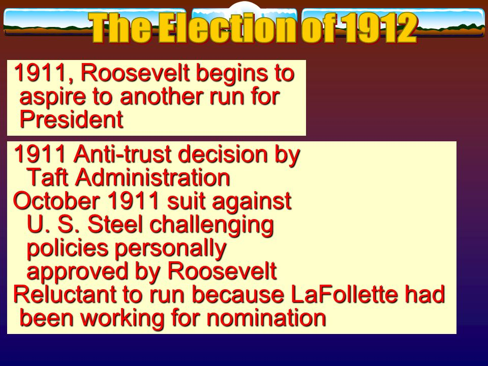 The result of the rift in the Republican Party and Taft's inability to repair it was the loss of the House of Representatives to the Democrats in 1910—first Democratic control in 18 years.
