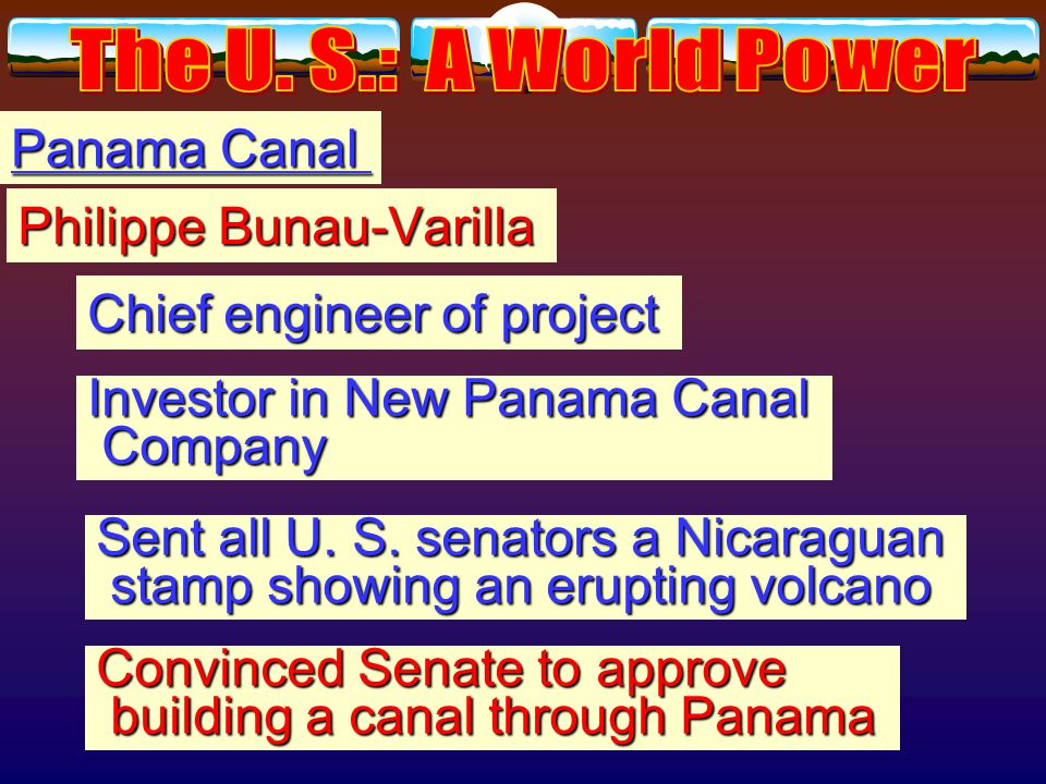 Panama Canal Engineers found two possible routes. Engineers found two possible routes.