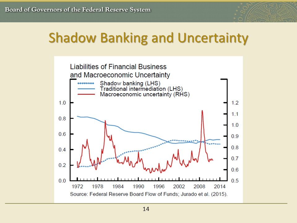Shadow Banking and Uncertainty 14