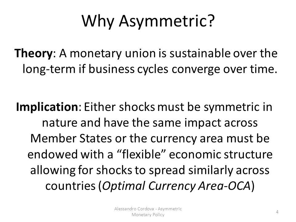 Why Asymmetric.