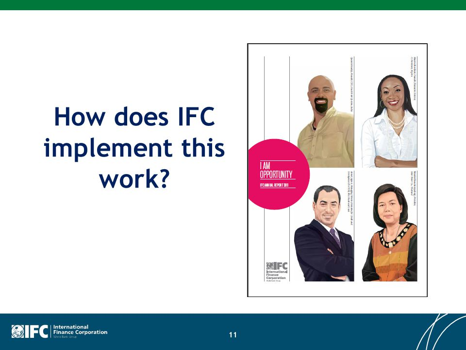 How does IFC implement this work 11