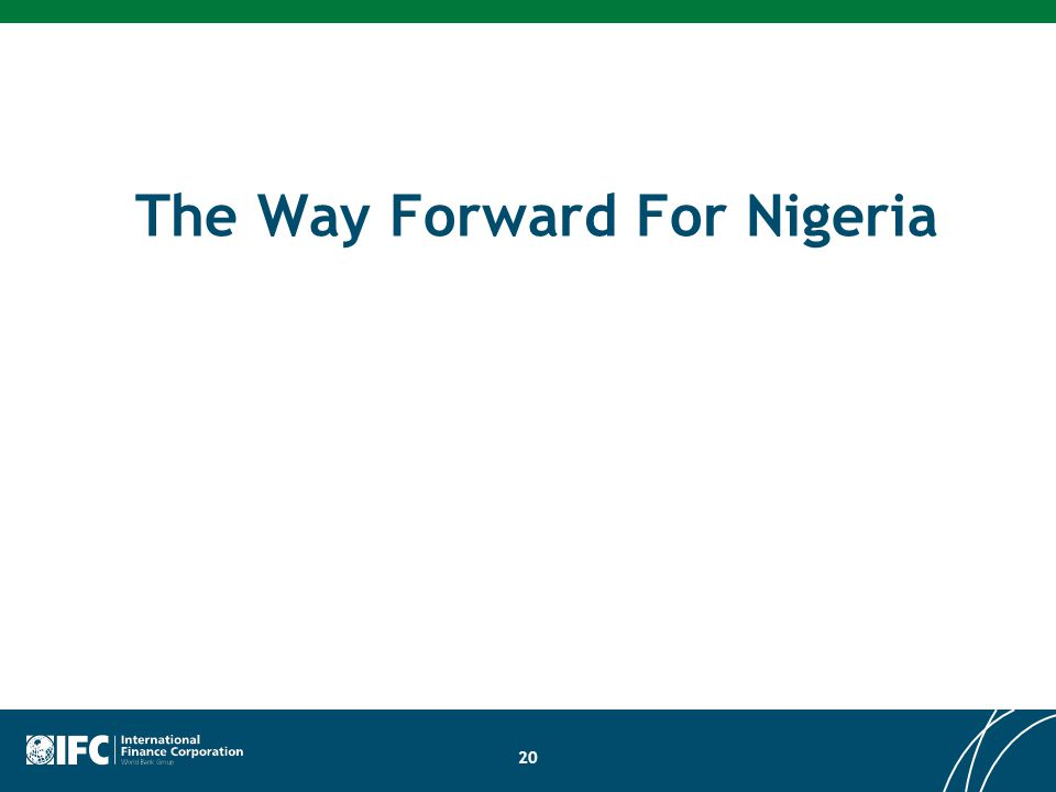 The Way Forward For Nigeria 20